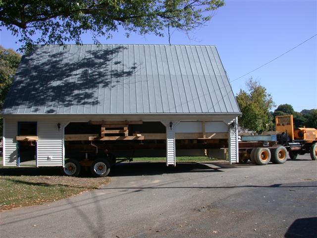 Stephen edwards building movers projects for 3 car garage with living quarters